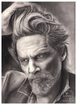 Jeff Bridges  Hyperrealistic by GDartstudios