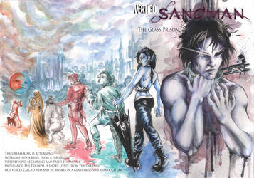 Sandman Wraparound Cover by xDeviNx