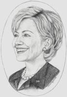 Hillary Clinton by rhunel