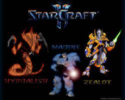 Starcraft 2 Three Classes by Darc1n