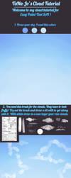 Cloud tutorial for Easy Paint Tool SAI by TaNa-Jo