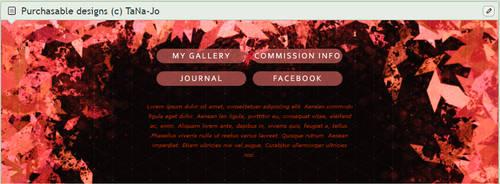 Red Crystal Custom box code and PSD by TaNa-Jo