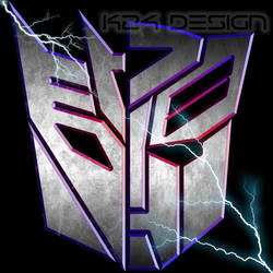 Transformers Split Logo by haz999