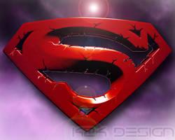 Superman 3D S logo by haz999