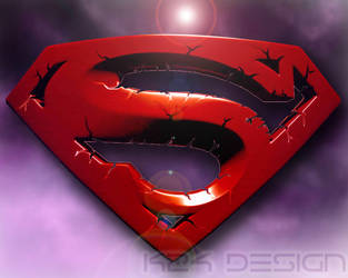 Superman 3D S logo by haz999
