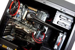 Aerocool DS200 Black Edition Custom PC Build 2015 by haz999