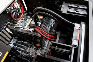 Aerocool DS200 Black Edition Custom PC Build by haz999