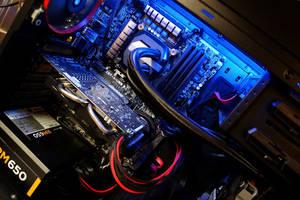 Aerocool DS200 Custom PC Build + Changing LEDs by haz999