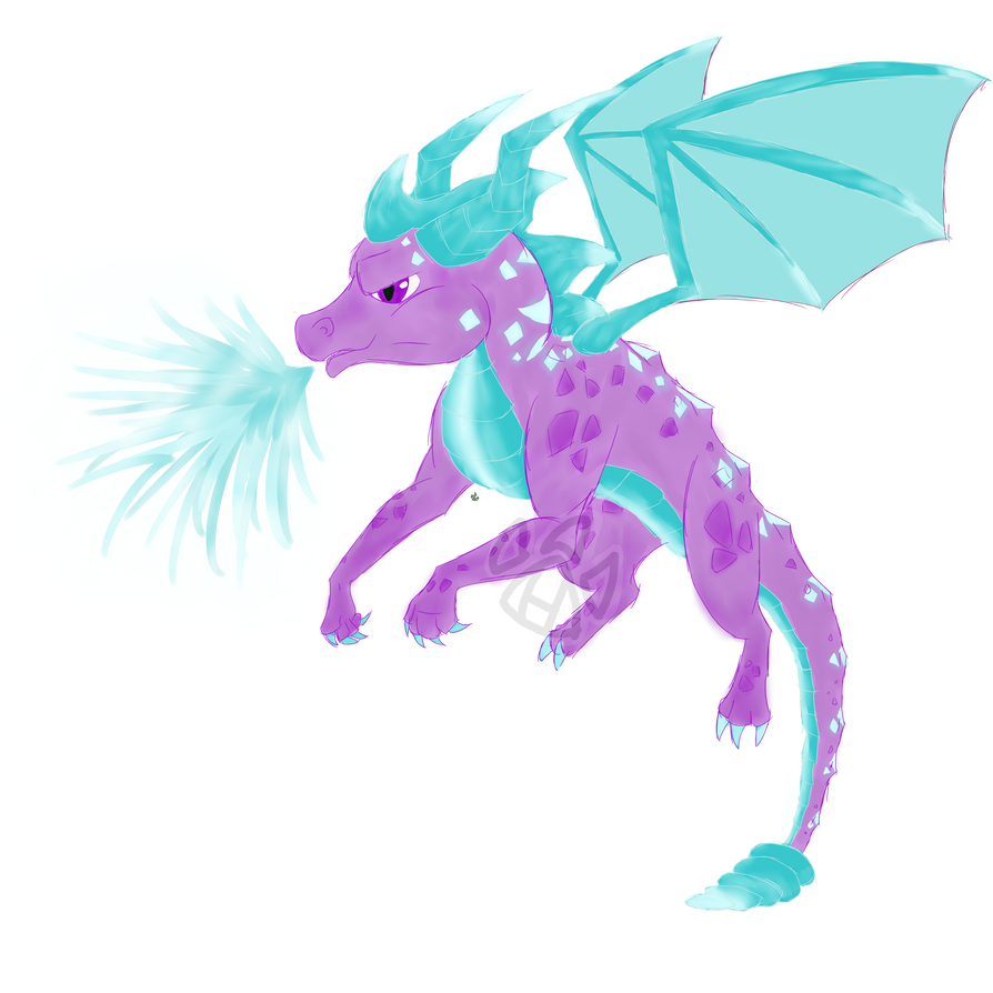 Spyro Ice Power Up by Neeko96