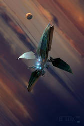 Jovian Sail Ship by TK769