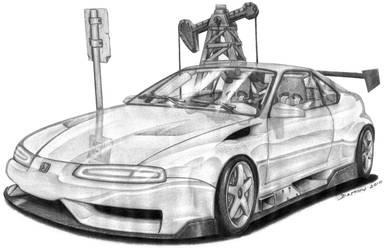Honda Prelude by spagi