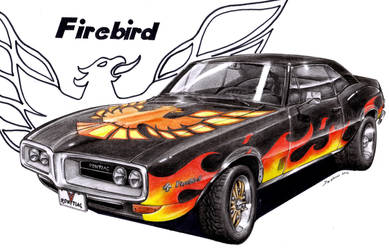 Pontiac firebird by spagi