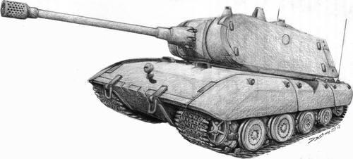 PzKpfw VIII - E100 by spagi