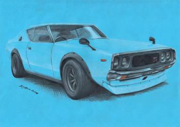 Nissan Skyline GT-R 1973 by spagi