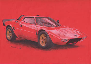 Lancia Stratos 1973 by spagi