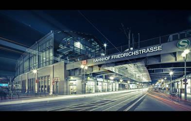 berlin friedrichstrasse by Fersy
