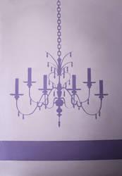 chandelier by EnniArt