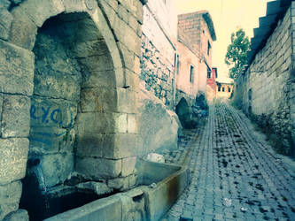 Street Fountain by mxdonence