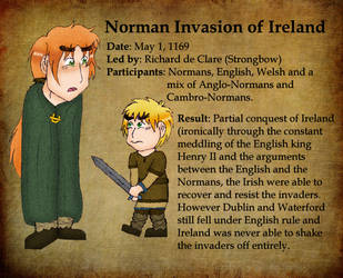 Norman Invasion of Ireland by Kimanda