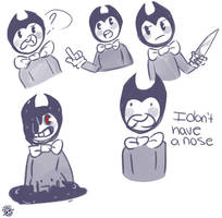 More Bendy Doodles by xWitchiix