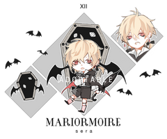Halloween Mariormoire Adoptable [CLOSED] by sr1023