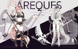 Halloween Areques Adoptable [closed!] by sr1023
