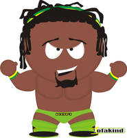Kofi Kingston SPW by jesuswuzagangsta