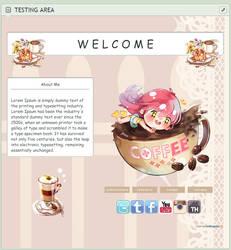 F2U Pastel Coffee Page by rollingpoly
