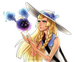 No Lillie u get in the bag by SavaageNymph
