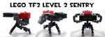 Lego TF2 Level 2 Sentry by HybridAir