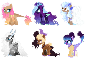 Auction- Mix Ponies(Open) #4 02/06 by GihhBloonde