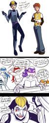 TMNT Rule 63 - April and Karai by MidoriEyes