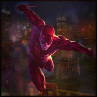 Daredevil : Red by HeroPix