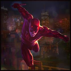 Daredevil : Red by HeroPix