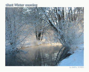 silent winter morning by dadirty