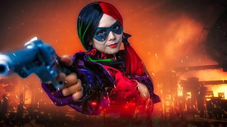 Harley Quinn - Love Hurts by curiosityorarrogance