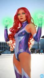 Starfire - Teen Titans (Rebirth) by curiosityorarrogance