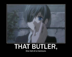 That Butler Those Nails by Ikaripoid