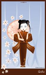 Geisha by oooAdAooo