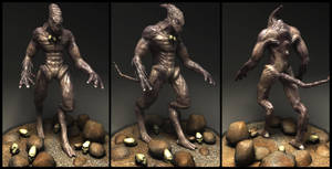 Alien - Character Modeling by Arkhars