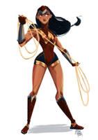 Wonder Woman (II) by ArtofFlo