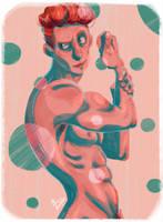 Geometrical Men - Dots by ArtofFlo