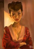Study 1 by Lady-ObsidiAnne