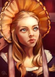 Cosette by Lady-ObsidiAnne