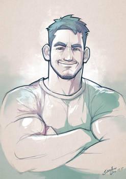 Daily sketch #001 by silverjow