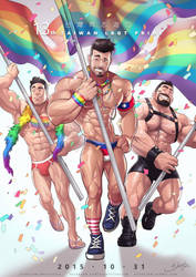 Taiwan LGBT Pride 2015 by silverjow