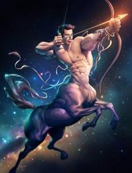 Sagittarius by silverjow