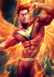 Dark Phoenix by silverjow