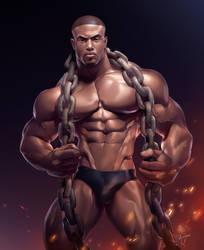Simeon Panda by silverjow