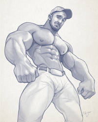 Hunk of the week #24 by silverjow